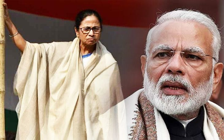ममता v/s मोदी... का होतेय राजकारणात मारामारीची भाषा?