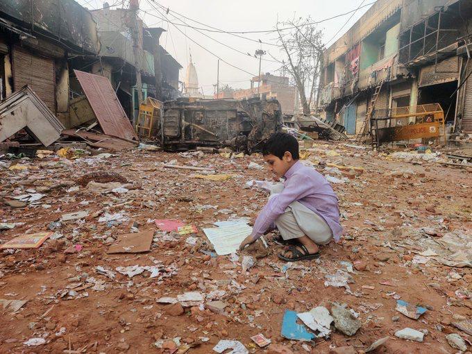 Delhi Riots Chand bagh