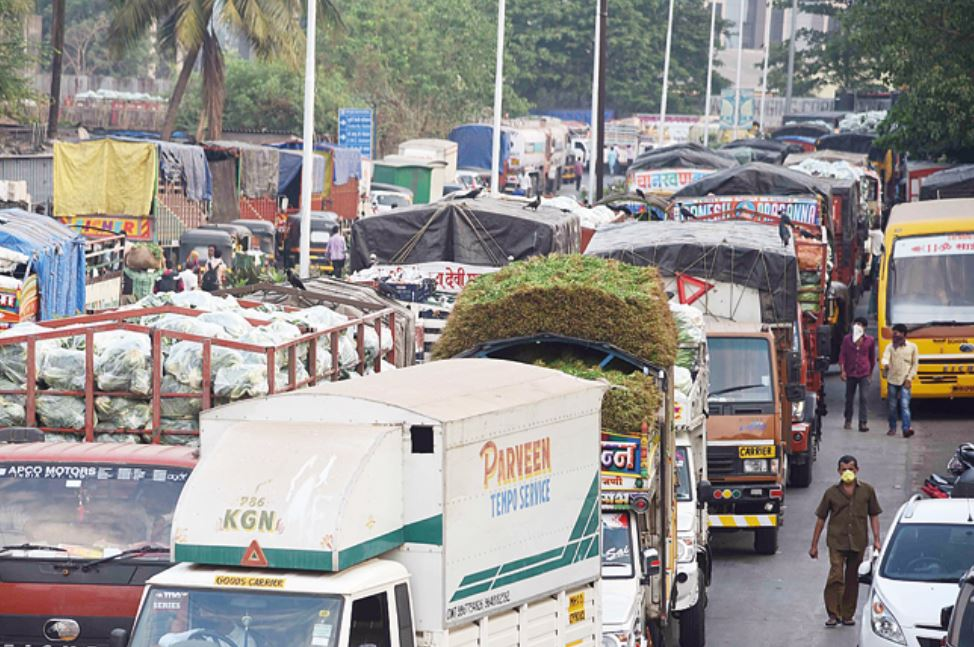 Transport Difficulties in Food market
