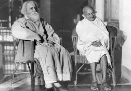 Ravindranath Tagor and mahatma gandhi